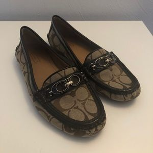 Size 6.5 Coach Fortunata Loafers